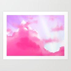 Dream Clouds Art Print