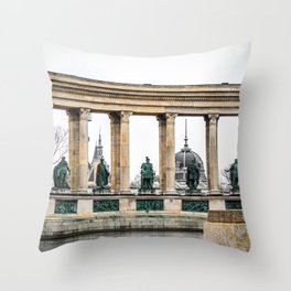 The Heroes. Throw Pillow
