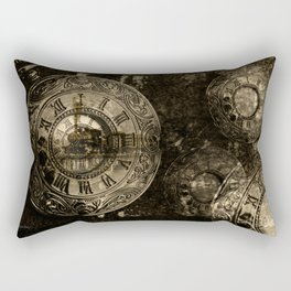 Time for the Train Rectangular Pillow