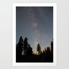 Milky Way Art Print