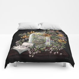 Atlantic Seaside Still Life Comforters