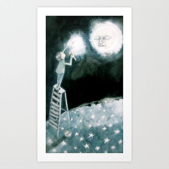 lights will guide you home... Art Print