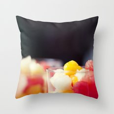 Summers vitamins Throw Pillow