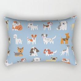 ENGLISH DOGS Rectangular Pillow