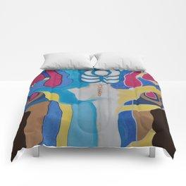 Woman´s tree / EL ARBOL DE LA MUJER Comforters