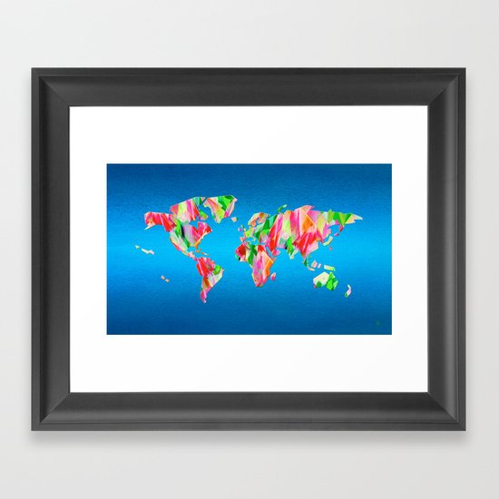 Tulip World #119 Framed Art Print