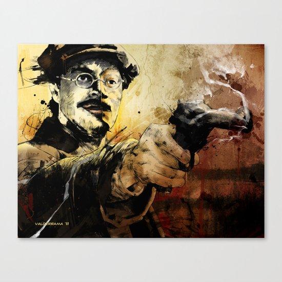 Halk Mask Canvas Print