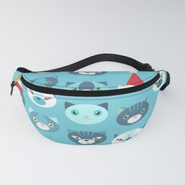 Christmas cats Fanny Pack