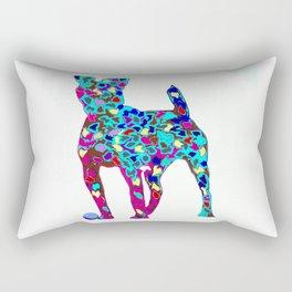 Dogs friend Rectangular Pillow