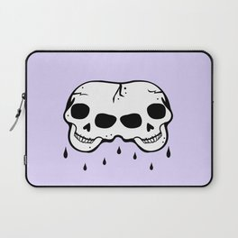 Creepier Than A Cemetery at Midnight Laptop Sleeve