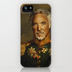 Sir Tom Jones - replaceface iPhone (5, 5s) Slim Case
