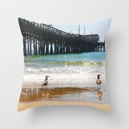 Wharf Throw Pillow