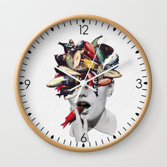 Ωmega-3 Wall Clock
