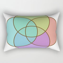 Plural Pride Rectangular Pillow