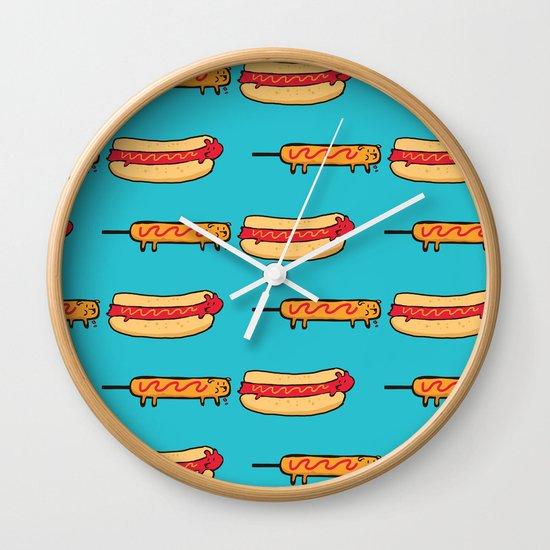 Dog Eat Dog World Wall Clock