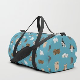 puppies pattern Duffle Bag