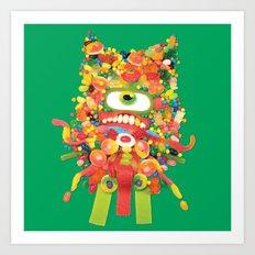 Sweet Monster Art Print