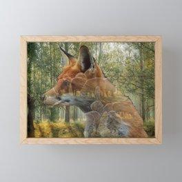 Future Feast Framed Mini Art Print