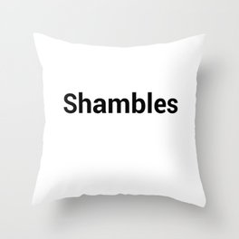 Shambles Throw Pillow