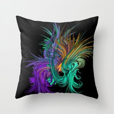 It's A Jungle In There Throw Pillow