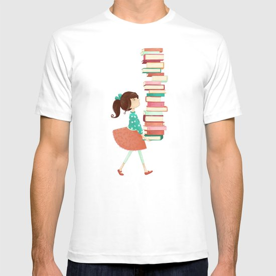 Library Girl T-shirt