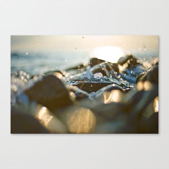 Glittering, shimmering ... Canvas Print
