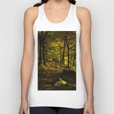 Padley Gorge Trail in Autumn Unisex Tank Top