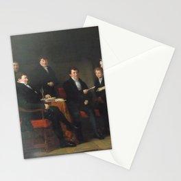 Jan Adam Kruseman - Regents of the Mennonite Orphanage, Haarlem Stationery Cards
