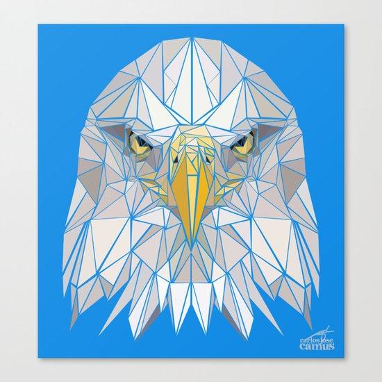 Blue Eagle Canvas Print