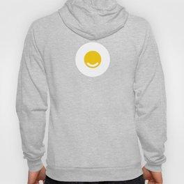 Minimalist Smiley Happy Fried Egg1 Hoody