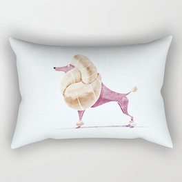 Poodle Rectangular Pillow