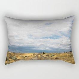 Dusty Road Rectangular Pillow