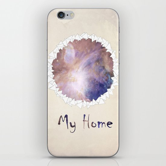 MY HOME iPhone & iPod Skin