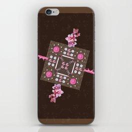 Breast Cancer Survivor Kaleidoscope Art iPhone Skin