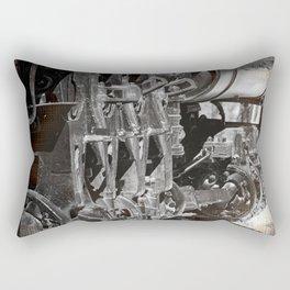 Train Engine Rectangular Pillow
