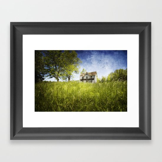 Lost Summers of My Youth Framed Art Print
