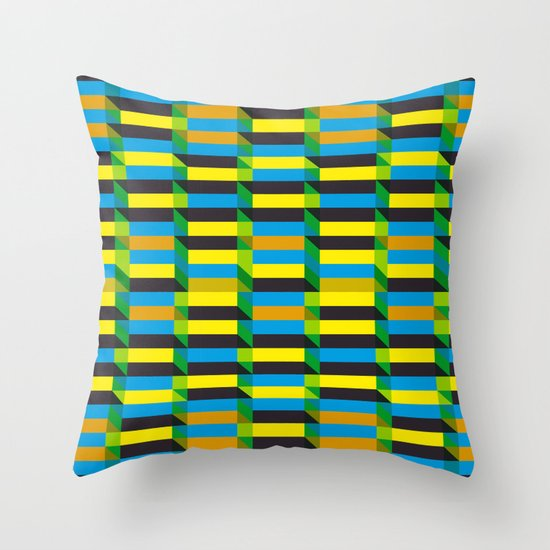 Cinetism and visual effect Throw Pillow
