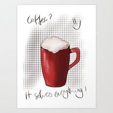ONE MORE? Art Print