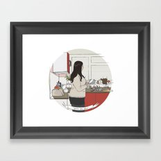 you're the glue Framed Art Print