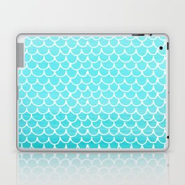 Let´s be mermaids- Aqua Mermaidscales - into the Sea Laptop & iPad Skin