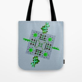 Breast Cancer Survivor Kaleidoscope Art Tote Bag