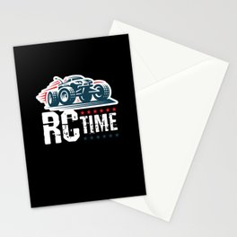 RC Time RC Car Model Build Stationery Cards