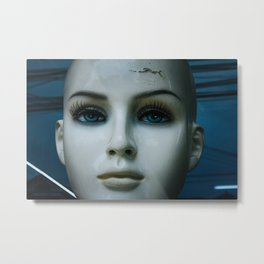 Mannequin in Dong Hoi Metal Print
