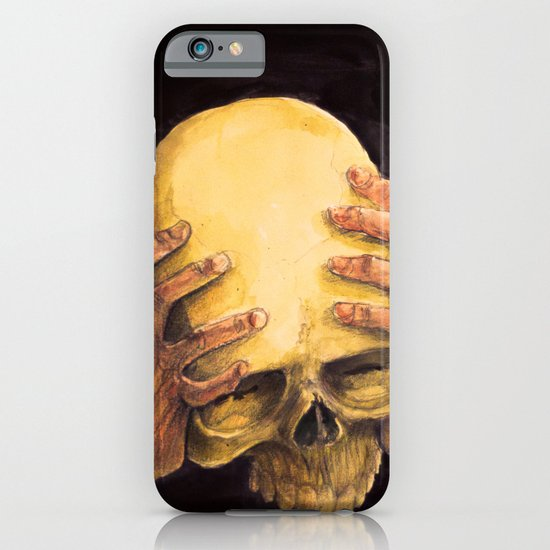 Head on Hands iPhone & iPod Case