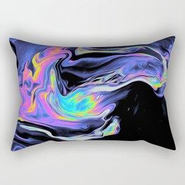 DESPAIR IN THE DEPARTURE LOUNGE Rectangular Pillow