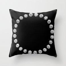 Bolts Throw Pillow