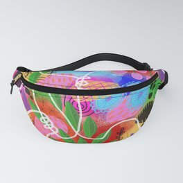 Coral Garden Fanny Pack