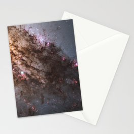 Firestorm of Star Birth in Galaxy Centaurus Stationery Cards