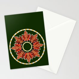 Ring Around the...buds and leaves Stationery Cards