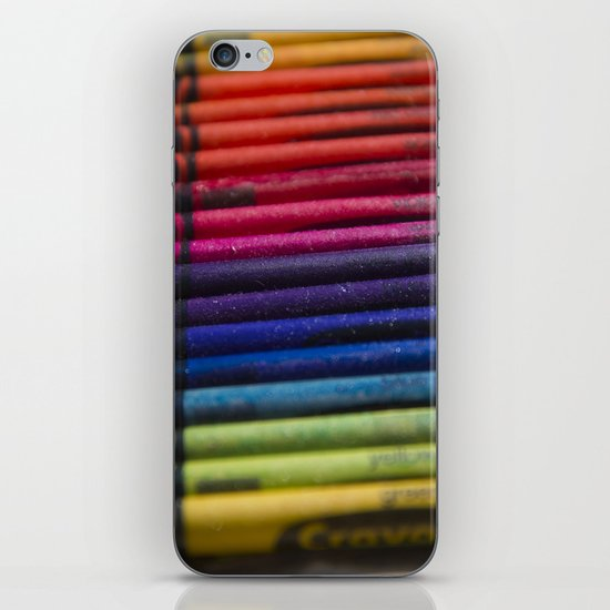 Crayons: Out of the Box! iPhone & iPod Skin